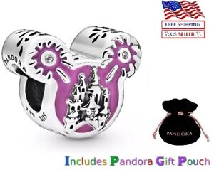 Authentic PANDORA Sterling Silver S925 ALE Disney park 2020 Mickey Mouse Charm
