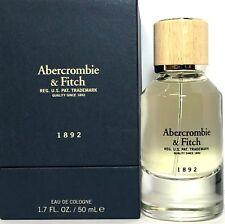 ABERCROMBIE & FITCH 1892 Eau De Cologne Spray FOR MEN 1.7 Oz / 50 ml BRAND NEW !