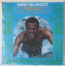 D119 Harry Belafonte: Pure Gold (RCA ANL1-0979) LP record, Mint in sealed wrap