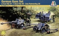 Italeri 1/72 WWII German Guns Set with 8 figures # 7026