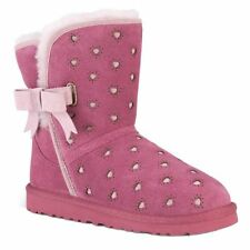 NIB Ugg Australia Youth Joleigh Boots Dark Dusty Rose Size 3 Youth