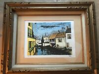 BERNARD BUFFET SIGNED and NUMBERED! Low Reserve! Beautifully Framed!