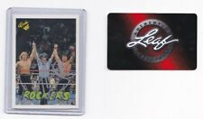 Marty Jannetty Classic Signed Card - Leaf Authentics Coa Wwe