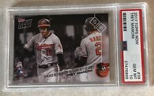 TREY MANCINI (RC) 2017 TOPPS NOW #39 PSA GRADED 10 GEM MINT - 5 HRs IN 10 GAMES