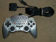 SONY PLAYSTATION 2 PS2 UFFICIALE NYKO itype 2 Controller Tastiera Chat Game Pad