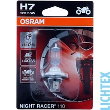 H7 OSRAM Night Racer +110% mehr Licht  - Modernes Design Performance - NEW