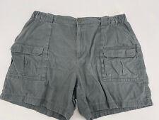 Men's Croft & Barrow Grey Green Shorts Size 42