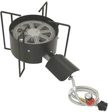 BAYOU CLASSIC KAB4 GAS CAST IRON BURNER PROPANE COOKER WITH HOUSE GUARD 5501663