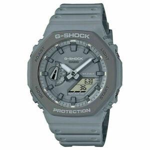 New Casio G-Shock Carbon Core Guard World Time Watch GA-2110ET-8A