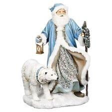 "Roman 16"" Led Santa/Polar Bear Figure #633269 Nib"