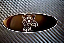 Designed for the Ford Focus ST Panther Black Gel Overlays  PFL & FL  X 2 Badges