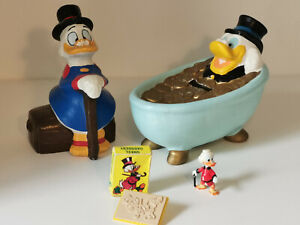 CHOOSE: vintage DAGOBERT DUCK Scrooge McDuck Disney Bully RWS 1970 - 1990er rar