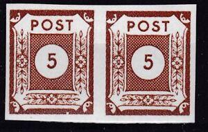 SBZ-Ostsachsen Nr. 42 V Paar  postfrisch,  1945, 5-5 Pf