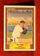 Jim Thome 1990 ProCards Burlington Indians Rookie RC... 1st Pro Card non auto