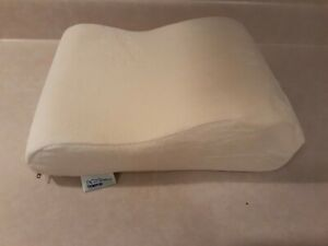 Tempur-Pedic Neck Pillow Firm Support, Travel, White