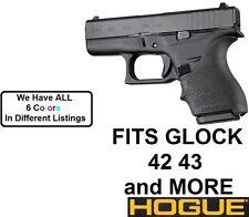 BLACK Hogue Rubber HandAll Beavertail Grip Sleeve Glock 42 43 G42 G43