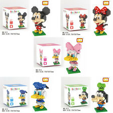 Disney Mickey Minnie LNO BLOCK Micro Mini Building Nano Block LOZ Iblock Gift
