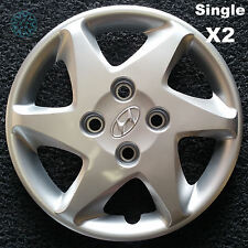 """Hyundai Elantra 15"""" Genuine Hubcaps Reconditioned x2 (TWO Singles Only)"""
