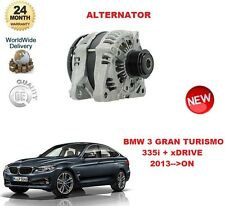 FOR BMW 3 SERIES GRAN TURISMO GT 335 i + xDRIVE 306BHP 2013-->ON ALTERNATOR UNIT