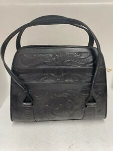 Hand Tooled / Embossed Genuine Mexican Leather Purse NEW