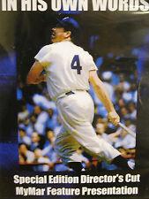 DUKE SNIDER HIS OWN WORDS BROOKLYN DODGERS DVD SPECIAL 2013 NEW NIB