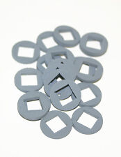 """Tough Industrial Rubber Washers 23/32"""" OD x 3/8 ID x .100 Thick (Pkg. 20)"""