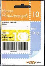 Hangboekje 88a-B 10 Pakketzegels 88a 10  kg emissie 2006 * ZEER LASTIG MATERIAAL