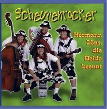 Scheunenrocker   Single-CD   Hermann Löns, die Heide brennt!