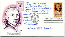 AUTHENTIC legendary discoverer of Valium meds Dr. Leo Sternbach signed FDC