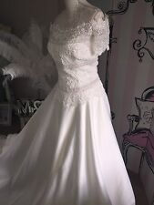 Alfred Angelo Wedding Dress New With Tags Size 10-12