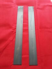 KNIFE MAKING 2x 40mmx 1.7mm High Carbon Steel strips cs95 .  Welding, springs