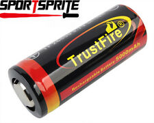 TrustFire 26650 3.7V 5000mAh Li-ion Rechargeable Battery fit XTAR Lamp UK
