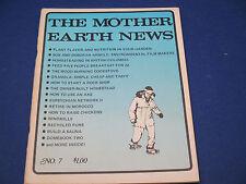 The Mother Earth News, January 1971, Plant  Flavor & Nutrition, Rock Shop, Sauna