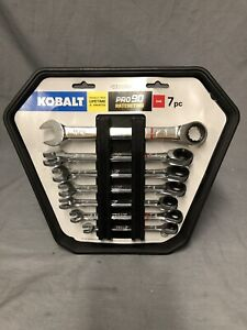 Kobalt 7-Piece 90 Tooth Standard (SAE) Ratchet Wrench Set