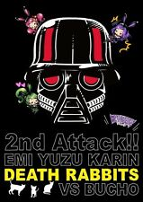 New Death Rabbits 2nd Attack EMI YUZU KARIN vs Bucho Live DVD Japan F/S GADD-18