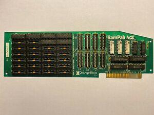 ✅ ⌘ Apple II Orange Micro RamPak 4GS