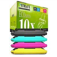 10x Eco Toner Per Samsung CLX-3185-FN CLX-3185-N CLP-325-N