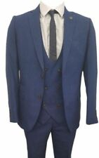Men's Check Double Breasted Suits