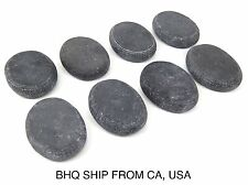 Hot Stone Massage 8 PC Ovular Basalt Stone Set