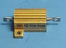 Dale Resistors 10w 001 Ohm 1 Aluminum Heat Sink Housing Cassis Mount