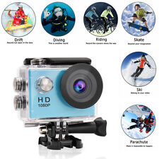 SJ4000 1080P HD Waterproof Sports DV Video Action Camera As Gopro Blue Colo