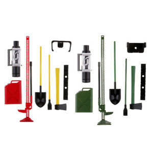 1/10 Scale Metal Mini Luggage Accessories Decor for   -4 RC Crawler