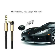 3.5mm Jack Cord Stereo Audio Cable Male To Male 90-Degree Right Angle Aux Cable