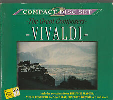 2 CDs - THE GREAT COMPOSERS - VIVALDI -TRING INTERNATIONAL PLC