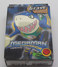 MEGAMAN NT Warrior Trading Card Game tomba SharkMan Starter Deck Nuovo OVP