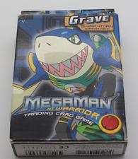MegaMan NT Warrior Trading Card Game Grave Sharkman Starter Deck Neu Ovp