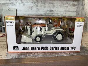1/16th Scale John Deere 140 Patio Series Sunset Orange With Snow Blower Ertl