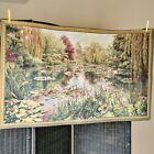 Vintage Flanders Tapestry European Belgian Monets Garden