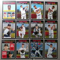 MINNESOTA TWINS 2020 TOPPS HERITAGE TEAM SET- ARRAEZ CRUZ