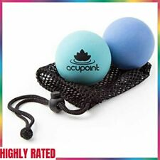 THERAPY BALL SET Physical Massage Myofascial Release Equipment 2 Pack ACUPOINT